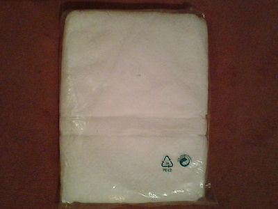 White Bath towel, New in original packaging no 1 of 2 available