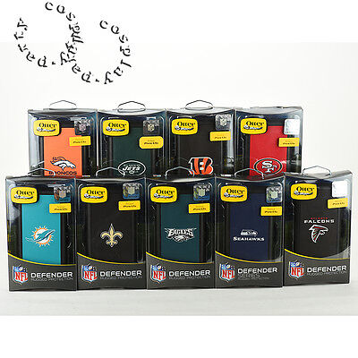 OtterBox Defender Hard Shell NFL Case Cover w/Belt Clip iPhone 6s / iPhone 6 NEW