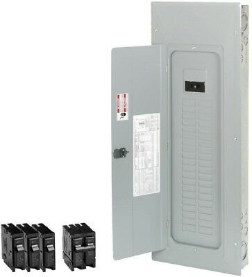 Eaton 200 Amp 40-Space 50-Circuit Main-Breaker Box Indoor Home Electrical-Panel