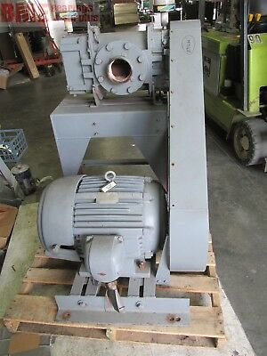 Young 9507 40Hp Pp Vacuum / Blower With 40 Hp Motor 324T Frame, 460 Volts,