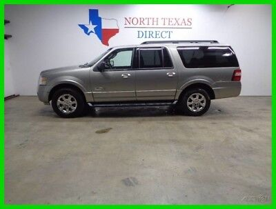 2008 Ford Expedition EL Premium 4WD Leather Power 3rd Row 1 Owner 2008 EL Premium 4WD Leather Power 3rd Row 1 Owner Used 5.4L V8 24V Automatic