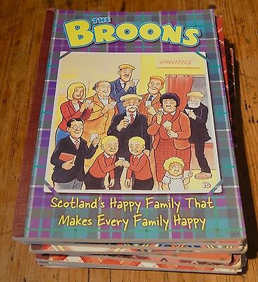 15 The Broons Annuals Mixed Used Condition