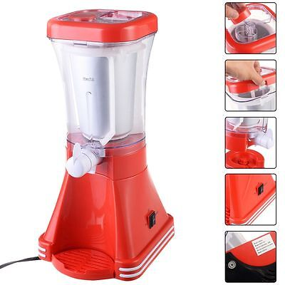 Slush Drink Maker Retro Machine Blender Ice Slushie Margarita Slurpee Frozen New