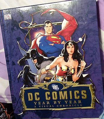 dc comics year by year-good condition