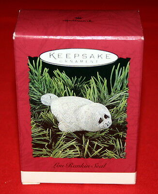 Hallmark Ornament 1992 Lou Rankin Seal