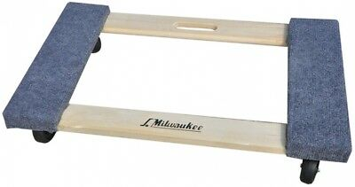 Milwaukee 1,000-lb Capacity Wood Dolly