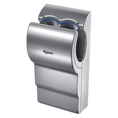 DYSON Hand Dryer, Integral,Polycarbonate ABS, AB14, Gray
