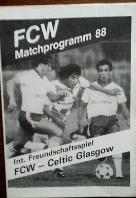 Winterthur V Celtic 1988 Friendly