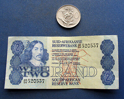 South Africa 2 Rand, 1983 - 1989, XF