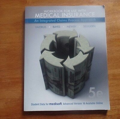 Workbook For Use With Medical Insurance 5th Edition Good Condition