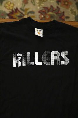 NEW The Killers t-shirt Black Short Sleeve Adult Small Unworn Concert Rock