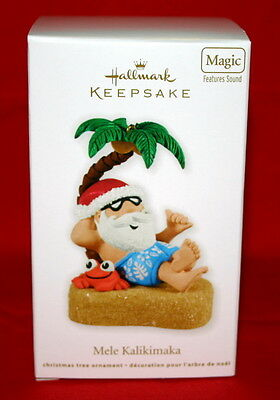 Hallmark Ornament Mele Kalikimaka-- Magic Features Sound