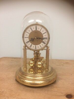 Vintage German Anniversary Clock With Wind Up Movement