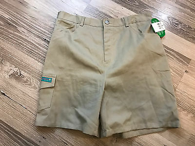 Nwt New Girl Scouts Of America Jr Shorts Size Xl Khaki Uniform Free Shipping