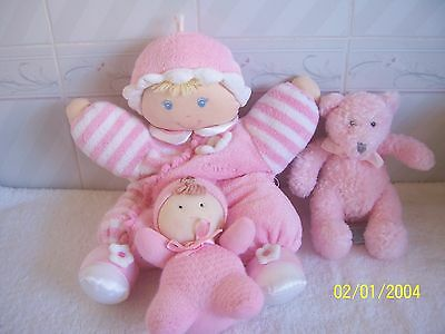 Bundle of Baby Girl's Soft Toys VGUC