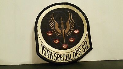 USAF  15th SPECIAL OPS SQ Color Patch 4 x 3 1/2 inches