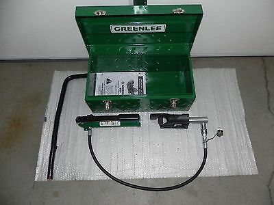 Greenlee bender 800 with 767 Hydraulic pump and case NICE 1725,746,7310,7304