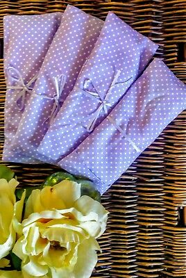 Handmade Eye Pillow Yoga Stress Headache Tired Eyes Relief Lavender