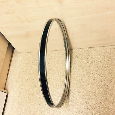 "Bass Drum Hoop 22"" Black Suit Drum Kit"