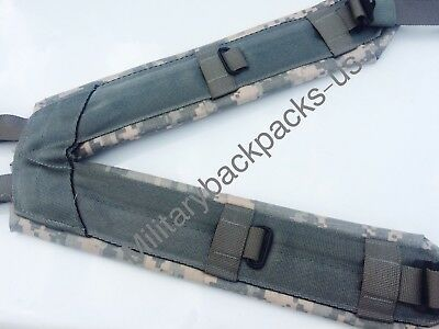 US Army New Digital ACU Suspenders H Harness Holster Equipment Shoulder Straps