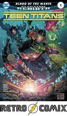 Dc Rebirth Teen Titans #11 First Print New/unread Bagged & Boarded