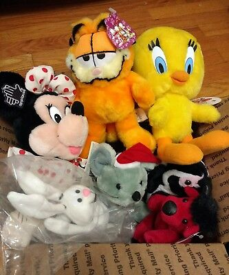 Bulk Lot Of Stuffed Animal And Assorted Plush Toys 100 Pieces
