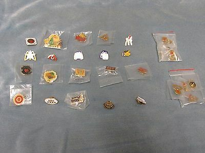 Mcdonalds Collectible Crew Pins McDonald's lot of 30, Christmas, Flintstones