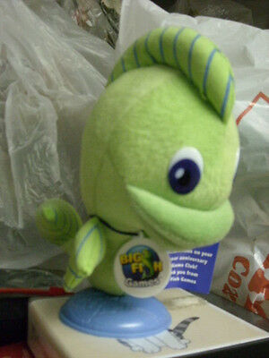 Big Fish games Felix the Fish Plush!
