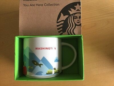 Starbucks You Are Here Mug Washington