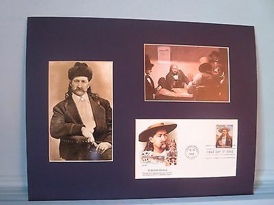 Frontier Lawman Wild Bill Hickok & First Day Cover of his own stamp