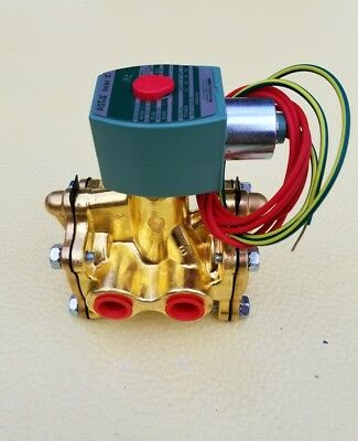 "Asco Red Hat 3/8"" 3-Way Solenoid Valve  8316G054"