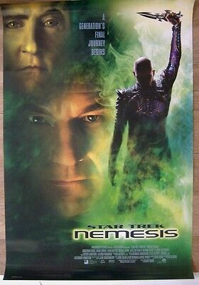 Star Trek: Nemesis (2002) Original D/S International One Sheet Cinema Poster