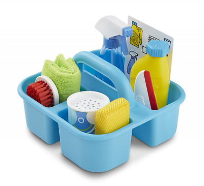 Melissa & Doug Spray, Squirt & Squeegee Play Set - Pretend Play Cleaning Caddy S