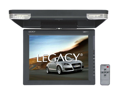 Legacy LMR17.1 Hi-Res 15.1-Inch Flip Down Roof Mount LCD Video Display Monitor a