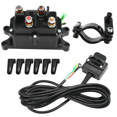 GOOD 12V Solenoid Relay COMBO Contactor Winch 12v atv utv solenoid relay contactor winch rocker thumb switch