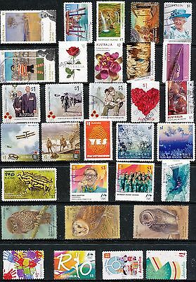 Australian Stamps $1.00 2016/2017 Finely used Recent/Bulk