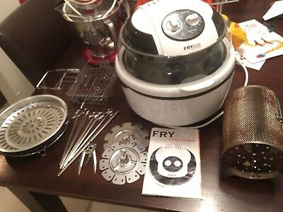 Air Fryer Convection Steam Rotisserie Bake Oven Healthy Fry Lots Extras Family