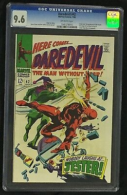 Daredevil #42 CGC 9.6 Origin/1ST Appearance of the Jester