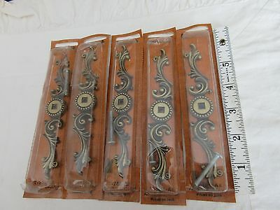 Amerock Provincial Lot of 5 Backplates Antique English T-702-AE - Old Stock