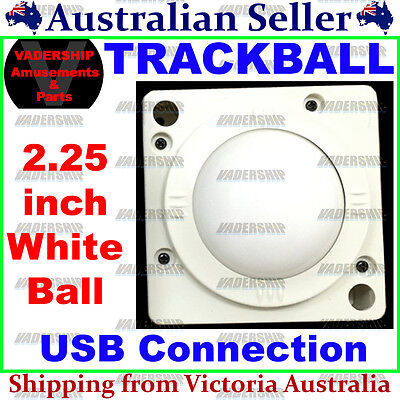 New: USB & PS2 Trackball – 2.25″ Ball with USB Connection: PC / Arcade / Mame