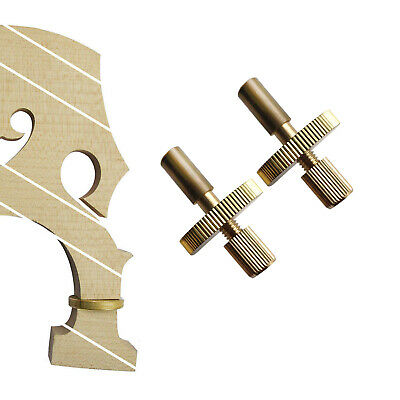 Full Size Upright Double Bass Separate Bridge Maple Metal Screw String 2pc String