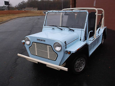 1967 Mini Classic Mini black mini moke