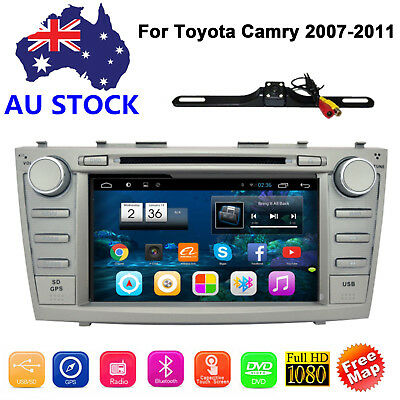 TOYOTA CAR DVD Player GPS Stereo 8'' Radio For CAMRY 2007 2008 2009 2010 2011