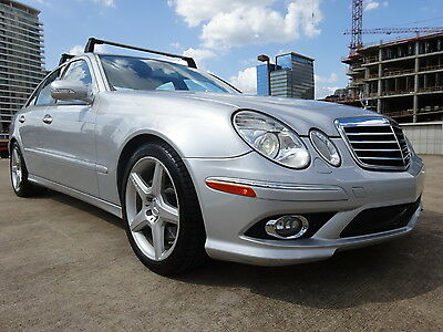 2009 Mercedes-Benz E-Class AMG PKG 2009 MERCEDES BENZ E350 AMG PKG SPORT NAV LOW MLS WARRANTY LOOKS DRIVES GREAT