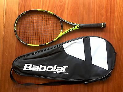 "Babolat Pure Aero Junior 26"" Tennis Racquet + Bag"