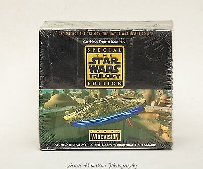 Star Wars Special Ed.  Widevision Trading Cards Topps 1995  Full Sealed Box