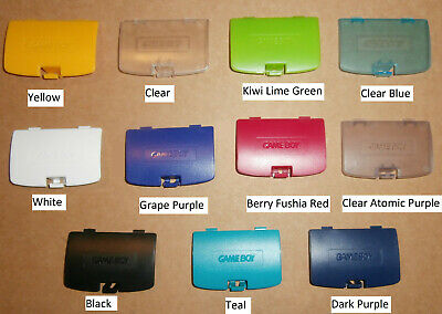 Nintendo GBC Game Boy Color Replacement Battery Cover 10 Colours Available