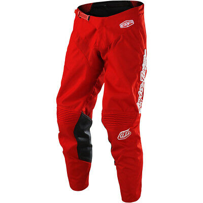 Troy Lee Designs NEW Mx 2018 GP Mono Red Kids Youth Motocross Dirt Bike Pants