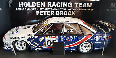 Biante 1:18 Holden Vs Hrt 1997 Commodore Atcc Round 8 Winner Driver Peter Brock