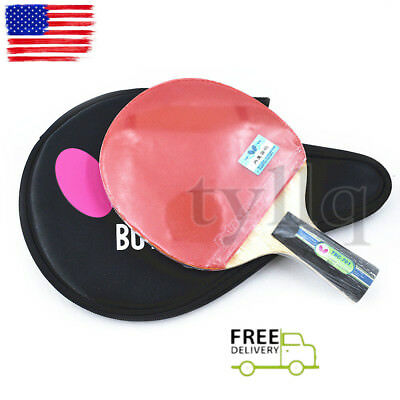 JAPAN Butterfly 7 Star 701 TBC701 Table Tennis Paddle //Bat with Case US